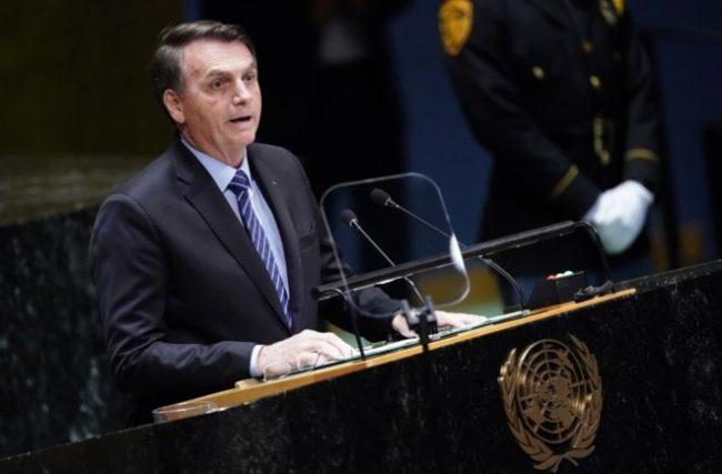 Bolsonaro glorifica a Deus e cita a Bíblia em discurso na ONU