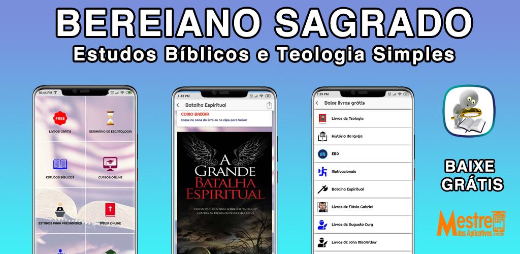 Aplicativo Bereiano Sagrado – Experimente