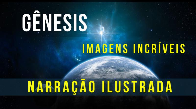 """Início da Criação descrito em Gênesis – """"ilustração"""""""